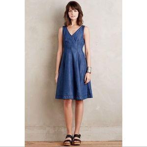 {anthropologie} denim dress